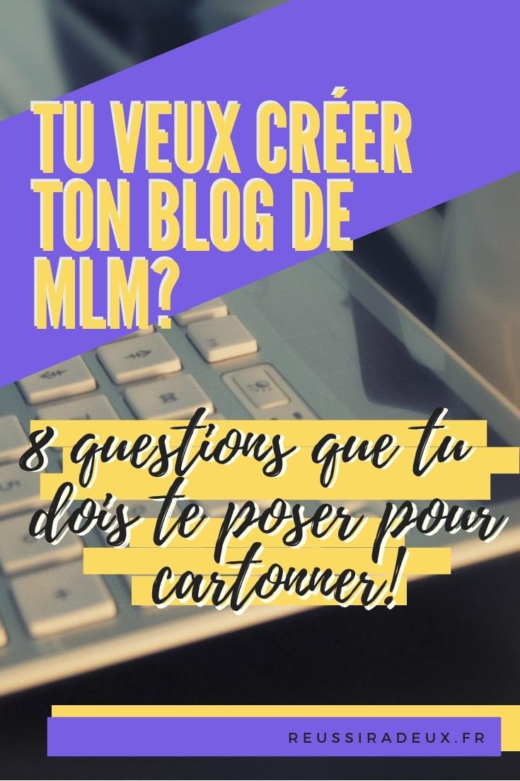 creer un blog mlm