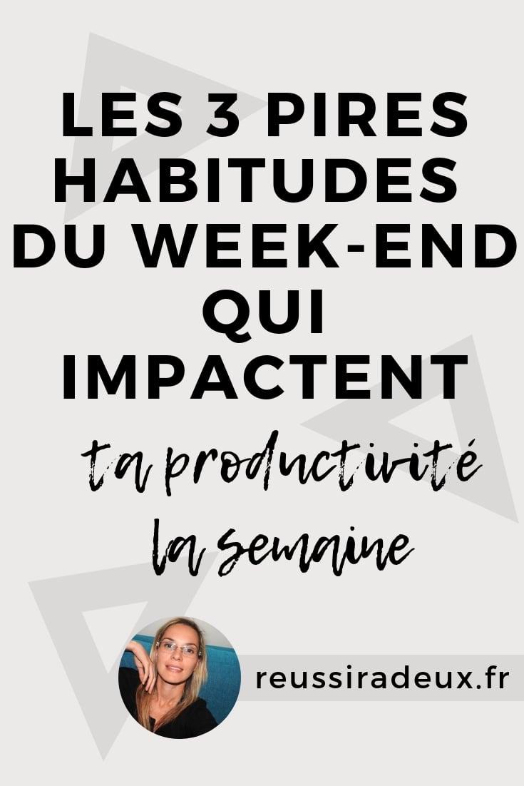 habitudes impactent productivite reussiradeux